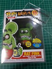 New listing Funko Pop! Rat Fink Glow Gitd #15 Toy Tokyo San Diego 2019