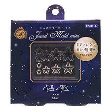 PADICO Jewel Mold Mini UV Resin & Clay Star nails accessaries