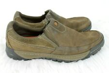 Merrell Traveler Rove Shoes size 10 Mens Canteen Brown Slip on Moccasin J42107