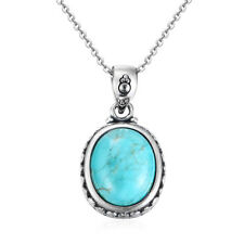 Natural Turquoise Retro Necklace Choker Turquoise Party Anniversary Gift Jewelry