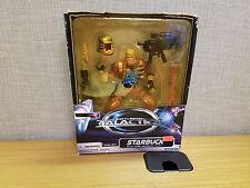Trendmasters Battlestar Galactica Starbuck Deluxe action figure, Brand new!