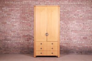 Charles Pfister for Baker Furniture Modern Art Deco Primavera Wardrobe Dresser