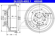 2x Bremstrommel für Bremsanlage Hinterachse ATE 24.0225-4002.1