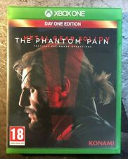 Metal Gear Solid V The Phantom Pain Day One Edition -. caso, mapa Xbox One & Disco