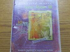 """""""NAME ABOVE ALL""""  Vineyard song book ... lyrics, chord charts, sheet music"""
