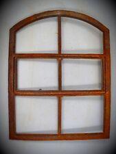 Antyczne materiały budowlane Eisen Stall Fenster Gußeisen rostig D.39 x 23cm Vintage Deko Geschenk Spiegel ?