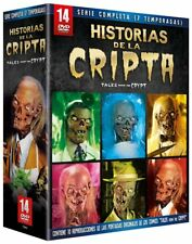 TALES FROM THE CRYPT The Complete Series **Dvd R2** 14 Dvds + 10 Postcards