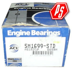 MAIN BEARING -  ACL - TOYOTA - 5M1699-STD - SEE MODELS IN DESCRIPTION