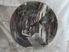 Royal Doulton Dinner Plate Clovelly North Devon TC1028 England Translucent China