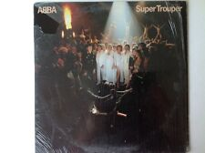 ABBA Super Trouper Vinyl Record LP with lyric insert Original Pressing
