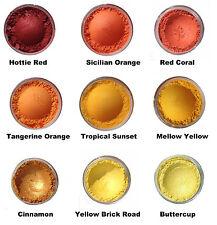 Mineral Mojo Natural Mineral Eyeshadow Large 10ml Sifter Jar (2 - 3g)  Oranges