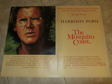 The Mosquito Coast movie poster - Harrison Ford poster - Original UK Quad