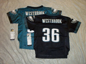 BRIAN WESTBROOK #36 PHILADELPHIA EAGLES TODDLER NFL JERSEY FREE SHIPPING