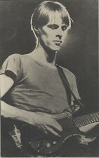 """Tom VERLAINE (TELEVISION)"" Photo cartonnée originale fin 70   25x40cm"