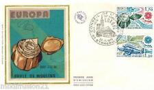 1979//ENVELOPPE SOIE**FDC 1°JOUR**PAIRE..EUROPA-STRASBOURG**TIMBRE Y/T 2046/7