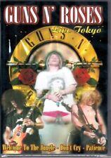"GUNS N' ROSES ""Live tokyo""  DVD  13  BIG  PERFORMACES  Nuovo Sigillato"