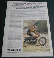 1972 YAMAHA DT2 250 ENDURO SALES AD VINTAGE