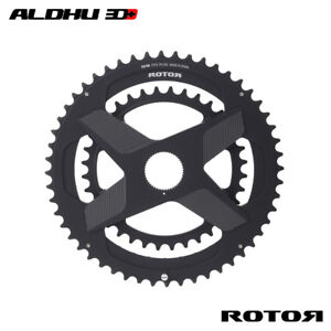 ROTOR Road Round Chainring ALDHU3D+ Spidering Direct Mount Noq rings
