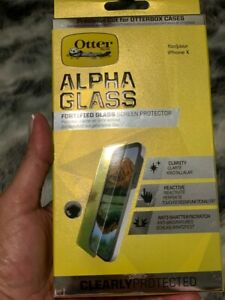 Otterbox Alpha Glass Screen Protector iPhone X Brand New