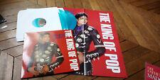 MICHAEL JACKSON The king of pop Live Wembley 88 3LP Vinyl couleur & Poster