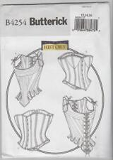Butterick Sewing Pattern B4254 Miss Costume Stays and Corsets Sz 12-16