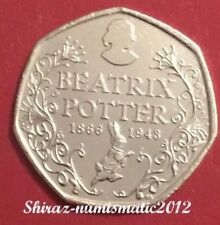 2016 Beatrix Potter 50p Coin Anniversary From Sealed Bag UNC