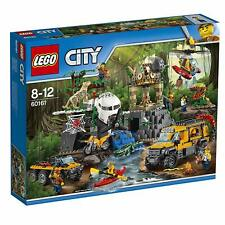 LEGO City Jungle 60161 - Jungle Exploration Site - New and Sealed (Retired Set)