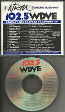 PROMO CD w/ YES members EDIT The Who TODD RUNDGREN John Eddie MR. BIG Mellencamp