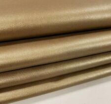 Golden Rod Italian Premium Smooth Grain Cowhide Leather Upholstery 21 sqft
