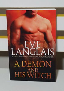 A DEMON AND HIS WITCH ROMANCE BOOK BY EVE LANGLAIS! WELCOME TO HELL #1