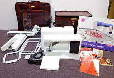 Husqvarna Viking Designer Ruby deLuxe Embroidery Sewing Machine w/Sew Steady
