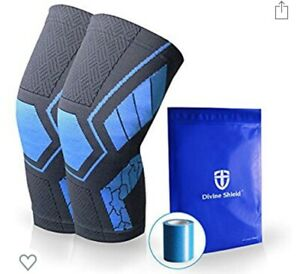 Knee Brace Extra Support W Kinesiology Tape Structural Pain Relief ~ Brand New ~