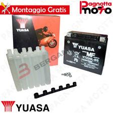 BATTERIA YUASA YTX20L-BS C/ACIDO BUELL X1 LIGHTNING 1200 1999>2002