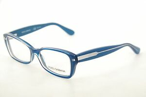 New Authentic Dolce & Gabbana DG 3176 2776 Blue-Green 52mm Eyeglasses Frames RX