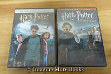 2 NEW/SEALED DVDs ~ Harry Potter Years 3-4 ~Prisoner of Azkaban & Goblet of Fire