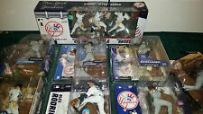 Yankees 3-Pack + Roger Clemens Robinson Cano Alex Rodriguez Abreu MLB Mcfarlane
