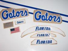FLORIDA GATORS Football Helmet Decals - (1) Decal Set