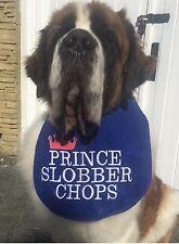 BIG DOG SLOBBER BIB PRINCE SLOBBER CHOPS FOR ALL LARGE SLOBBERY DROOLING DOGS