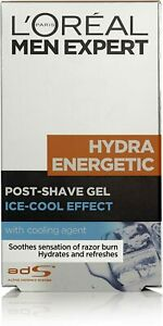 L'Oréal Paris Men Expert Hydra Energetic Ice Cool Effect Post Shave Gel 100 ml