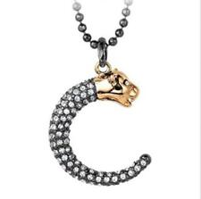 Black Panther Stella Wedding Jewelry Style Pendant Necklace Dot Bib Necklace