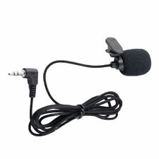 3.5mm Jack Clip-on Lapel Mini Lavalier Microphone Mic For IPhone /Smart Phone AU