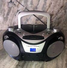 JENSEN CD-555 AM/FM CD Player Portable Boombox Fixer Upper Cassette Door Missing