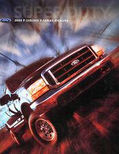 Ford 2000 F-250/350 F-Series Pickups Brochure EX 041516jhe