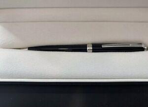 MONTBLANC Ballpoint Pen Pix Black 114797; BOX, PAPER