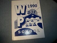 1990 WEST PARK SCHOOL YEARBOOK WEST PARK NY