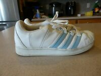 Adidas Vintage Classic Superstar White Sneaker Casual Tennis Shoes Womens sz 9 M
