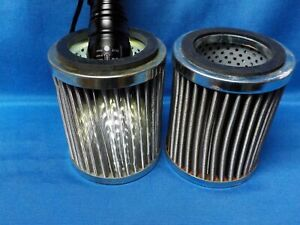 Hydraulic Oil Suction Filter, Fine Stainless Steel Mesh,