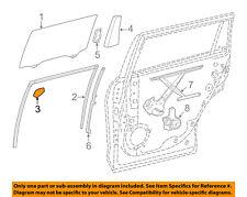 Toyota Oem 14-18 Highlander Glass-Rear Door-Corner Trim Right 676730E040