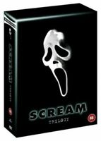 Scream Trilogy Box Set DVD USED VGC        ROYAL MAIL 48