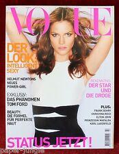 Vogue Deutsch Germany ~ February 2001 ~ Mini Anden H Newton Nadja Auermann